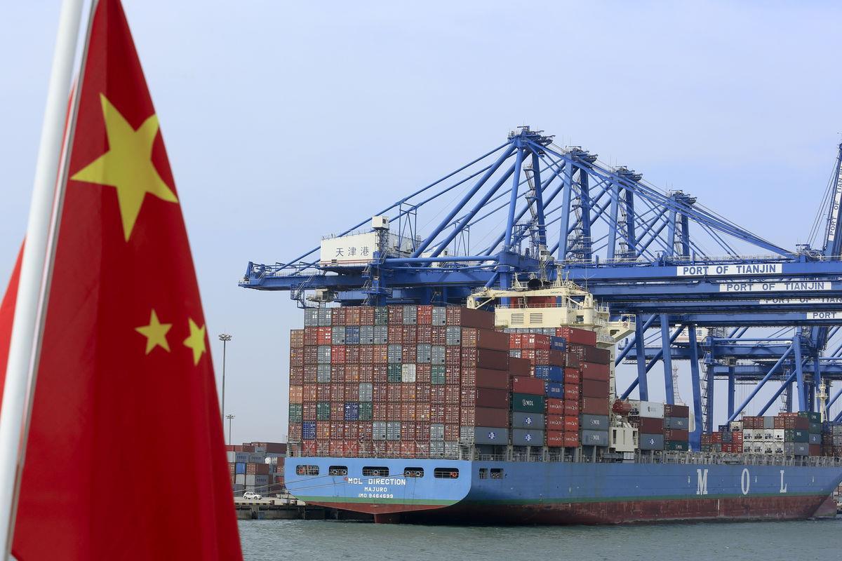 грузы экспорт в Китай